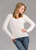 KK417 V-neck Aurora Sweater
