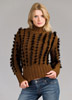 KK419 Aurora Bulky Sweater w/ Fur