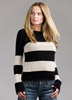 KK422 Boise Black & White Top