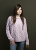 KK582 Princess Aurora Aran Sweater