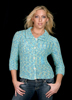 KK507 Chameleon Lace Sweater With 3/4 Sleeves